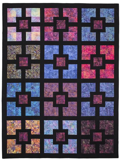 quilt pattern of the day quilt in a day eleanor burns hole in the wall t pattern