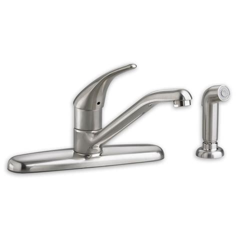 quince 1 handle pull down high arc kitchen american standard kitchen faucets fairbury 1 handle pull