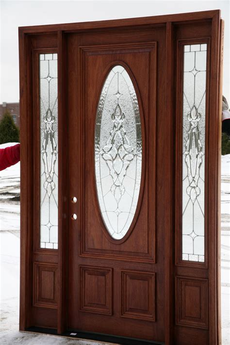 Oval Glass Front Entry Door Front Doors With Oval Glass