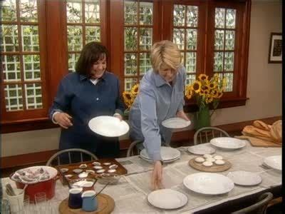 ina garten entertaining ina garten sets a table for a kitchen clambake ina