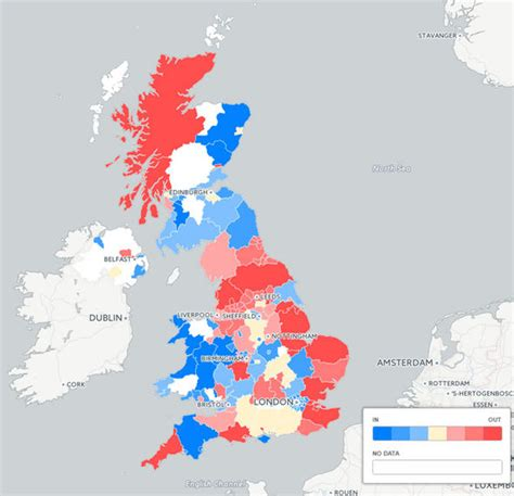 map uk remain leave mapped leave or remain what are saying about the