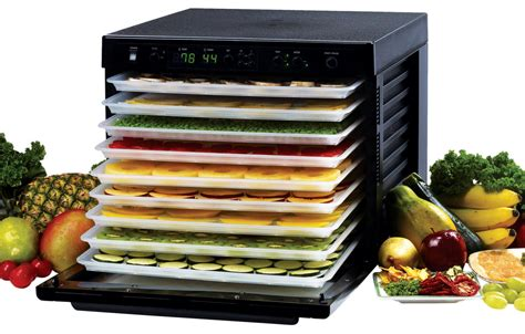 Dehydrator Food tribest sedona 9 tray dehydrator