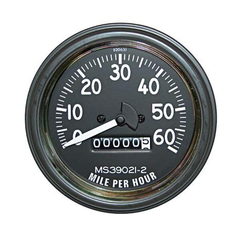 jeep speedometer speedometer 0 60 mph 1945 1964 cj2a 3a 3b m38
