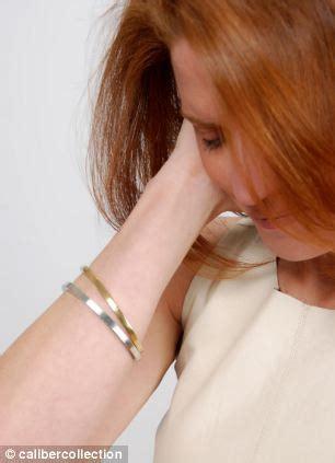 Heike Grebenstein Model Turns Jewelry Designer by Bangles From The Bullets Jewelry Designer Turns Guns