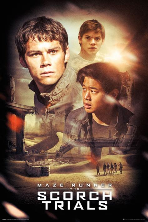lanjutan film maze runner 2 maze runner 2 collage official poster official
