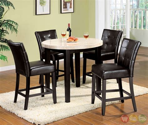 counter height dining chairs contemporary counter height marion iii contemporary espresso counter height dining set