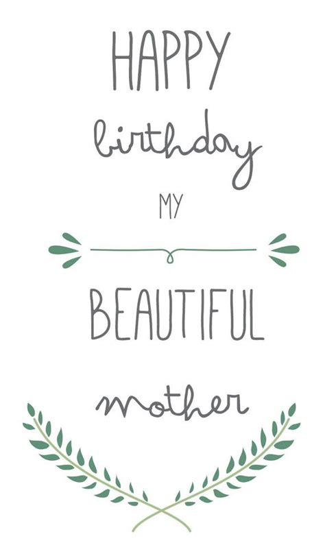 printable card for mom 25 best mother birthday ideas on pinterest mother