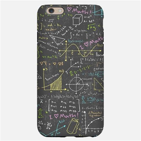 math iphone cases covers for iphone 6 6s 6 plus 6s plus 5 and 4