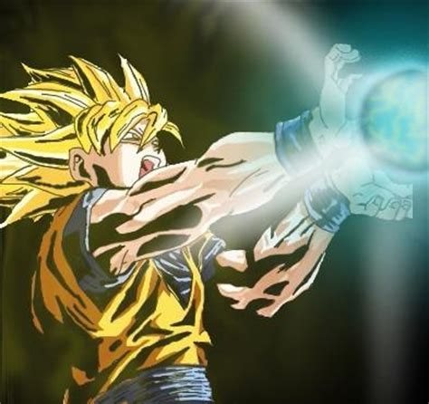 imagenes de goku haciendo el kamehameha goku doing the kamehameha by sonofawesome on deviantart