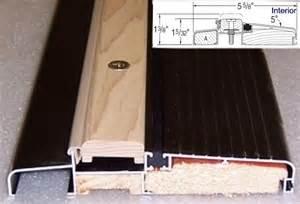 Door Thresholds For Exterior Doors Inswing Or Outswing Doors Homebuilding