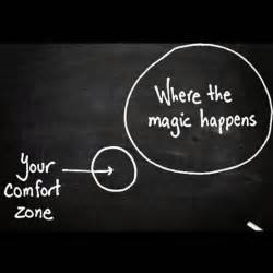 Outside Your Comfort Zone learning with improve your fluency