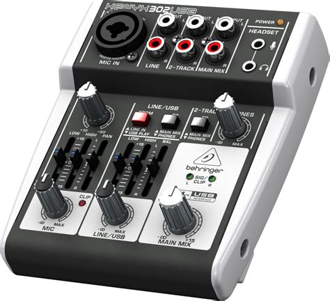 Mixer Merk Behringer jual mixer behringer xenyx 302 usb dengan usb audio