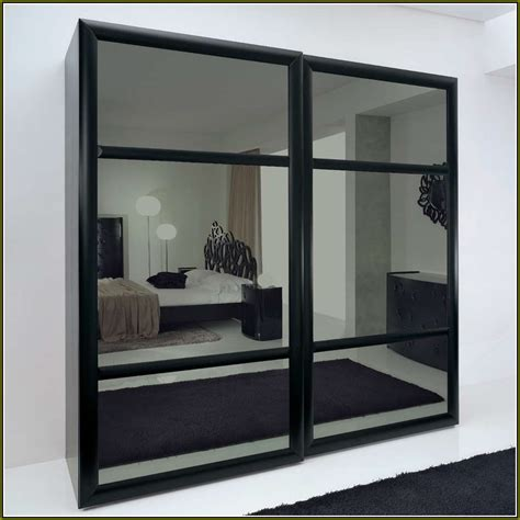 Folding Mirror Closet Doors Closet Bifold Doors Home Design Ideas