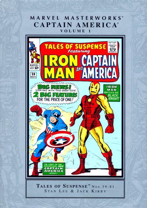 Captain America Marvel America 1 captain america masterworks vol 1