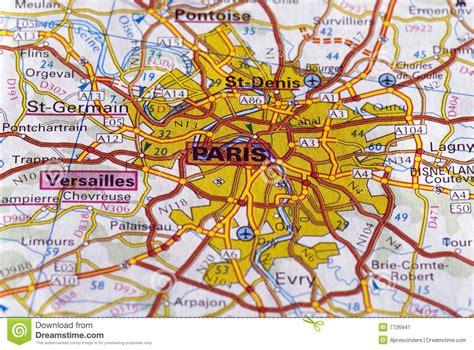 Home Design 2d Free by Paris Auf Der Karte Stockbild Bild 7726941