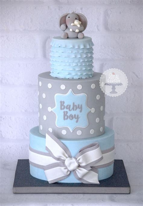 Baby Shower Cakes For Boys by 25 Best Ideas About Baby Shower Cakes On