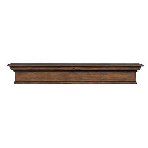 mantel shelves builder s choice douglas fir box beam 3 ft cap shelf
