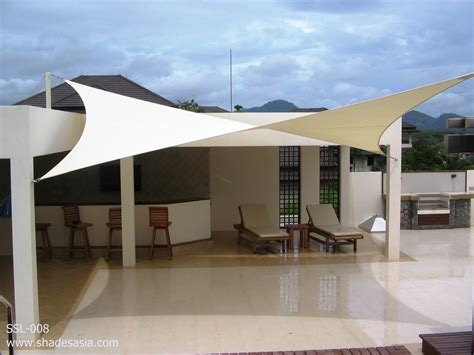 sail canopy awning sleek and modern fabric shade sails magical garden