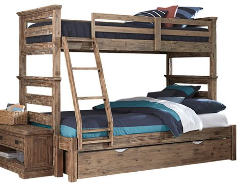 Dining Room Sets Solid Wood by Traxler Sandwashed Gray Bunk Bed Rustic Kids Beds By