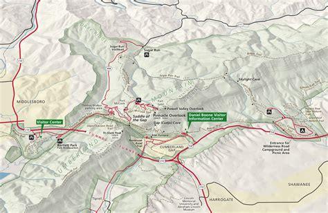 cumberland trail map cumberland gap maps npmaps just free maps period