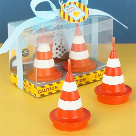 birthday party supplies smokeless candles boy traffic props toy cone cake candles wedding