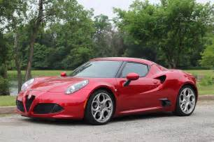 Alfa Romeo Convertible 2015 Review 2015 Alfa Romeo 4c Coupe 95 Octane