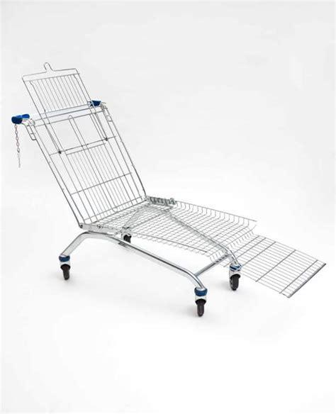 shopping cart chair diy how to build a diy shopping cart lounge chair