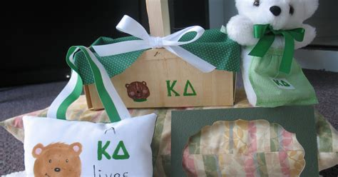 Handmade Sorority Gifts - sorority kappa delta handmade teddy gifts