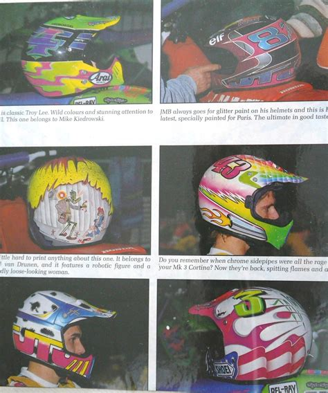 custom painted motocross helmets 80 s 90 s custom painted helmets of the moto