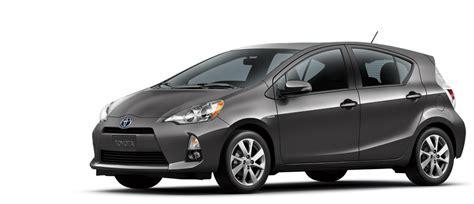 2014 Toyota Prius C Two 2014 Toyota Prius C Grey Top Auto Magazine