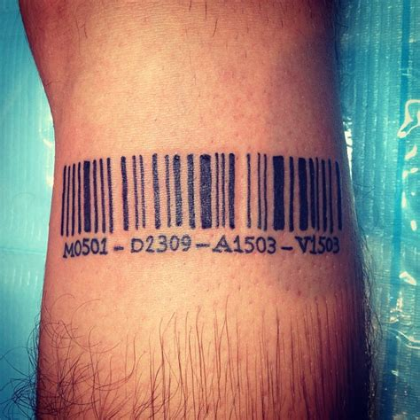 barcode tattoo on biceps 25 graphic barcode tattoo meanings placement ideas 2018