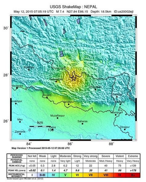 earthquake questionnaire nepal rocked by 7 3 magnitude earthquake near chinese
