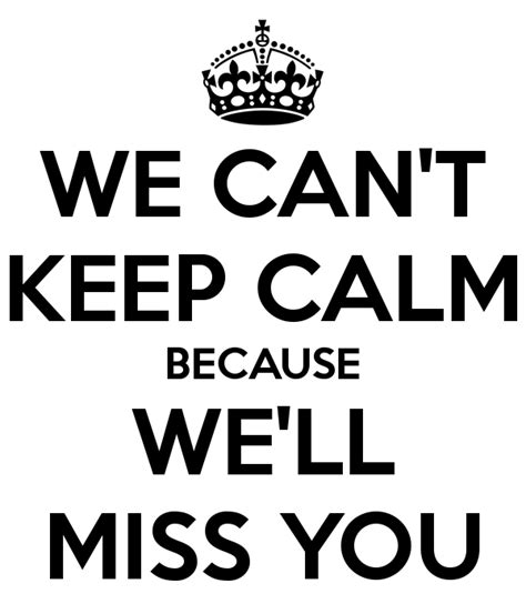 We Will Protect You By Fujimi we can t keep calm because we ll miss you poster sali keep calm o matic