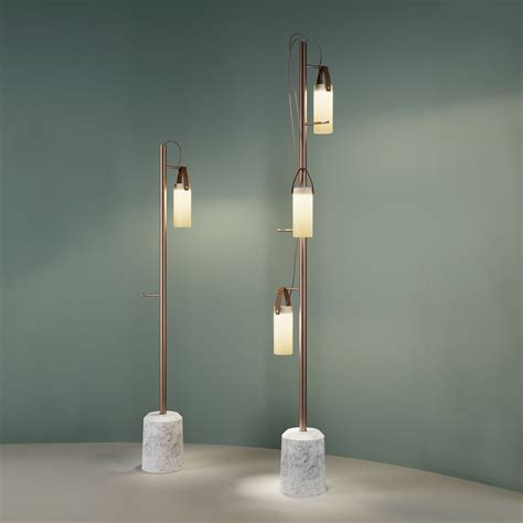 illuminazione gallerie floor ls galerie fontanaarte