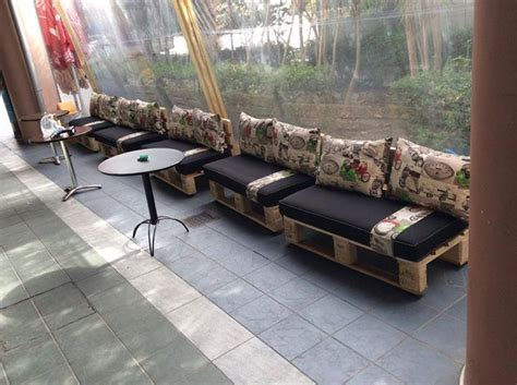 Other Uses For A Bar Bar Furniture Made With Wooden Pallets Pallet Ideas