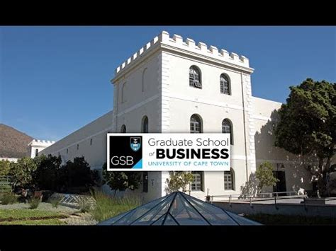 Uct Mba Ranking 2017 by Of Cape Town Graduate School Of Business