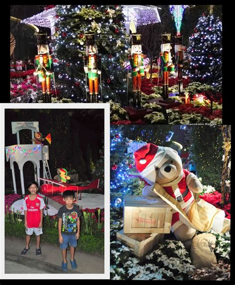 christmas toyland and more at gardens by the bay