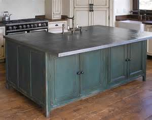attractive Pros And Cons Of Stainless Steel Countertops #1: french-country-zinc-ctop-500x375.jpg