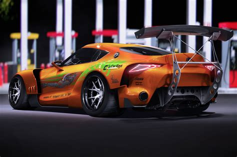 The Fast And The Furious Renders Bring Cars From The Fast And The Furious Up To