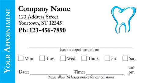 appointment card template free free appointment calendar labels calendar template 2016