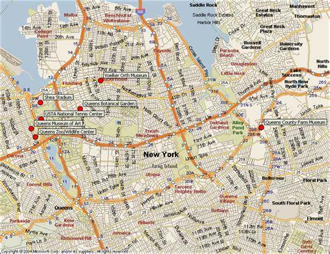 printable queens map new york map queens manhattan travelsfinders com