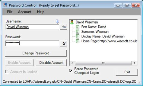 reset user data tool active directory password reset tool brakertechbrakertech