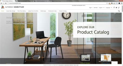 best home decor websites autodesk homestyler web based interior design software