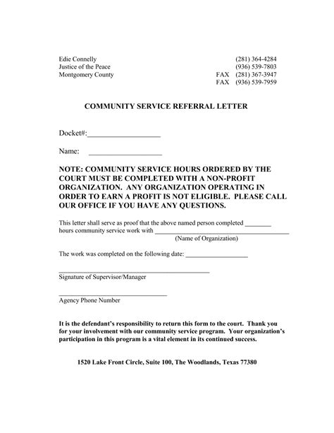 Writing A Community Service Letter how to write a letter of verification of address sle