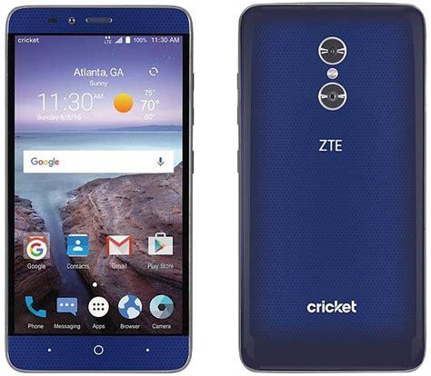 zte blade  max hits cricket wireless notebookchecknet news
