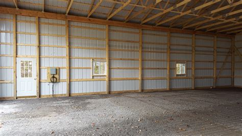 Pole Barn Concrete Floor Cost by Pole Barn Installation And Construction In Western Ny