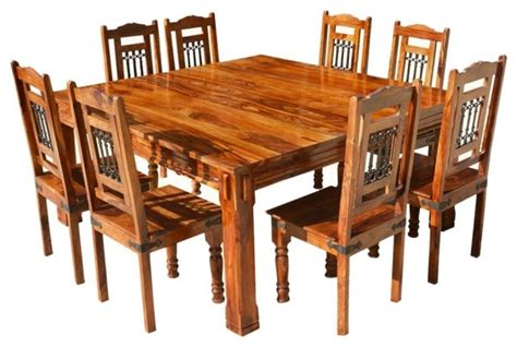 9 dining table square 9 square dining set architecture markhackley com