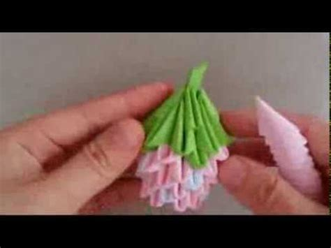 3d Origami Strawberry - 55 best images about 3d origami on origami