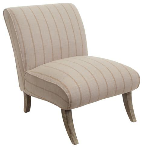 beige slipper chair jasmina fabric slipper chair striped beige contemporary