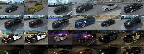 mod game need for speed most wanted nfs most wanted traffic pack update 110416 mod american